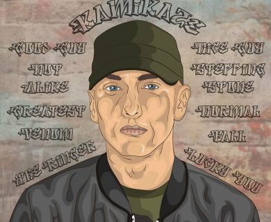 Eminem cartoon