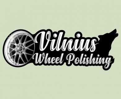 Vilnius wheel polishing logo